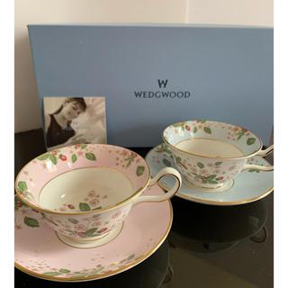 WEDGWOOD - 廃盤◆新品◆ウェッジウッド ワイルドストロベリーブルーム カップ&ソーサー