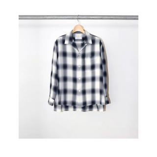 PHEENY - タグ付き新品未使用 SS20 Pheeny レーヨンチェックオープンカラーシャツ