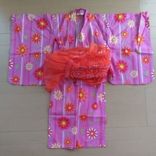 BERRY'S BERRY - 花柄浴衣 サンドレス