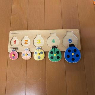 ボーネルンド(BorneLund)のBorneLund 木製パズル 数合わせ(知育玩具)