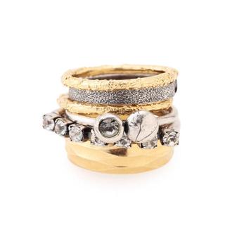 イオッセリアーニ(IOSSELLIANI)のIOSSELLIANI 6連リング イオッセリアーニ 指輪(リング(指輪))