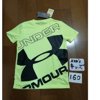 UNDER ARMOUR - 20春夏最新モデル‼️UNDER ARMOUR キッズ160ロゴTイエロー未使用