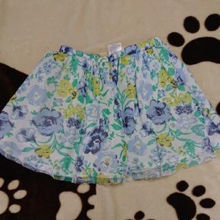 エムピーエス(MPS)のMPS 花柄スカート 110cm(スカート)