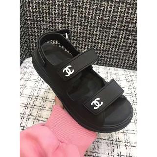 CHANEL - シャネルサンダル シャネルスポサン レディースサンダル 靴