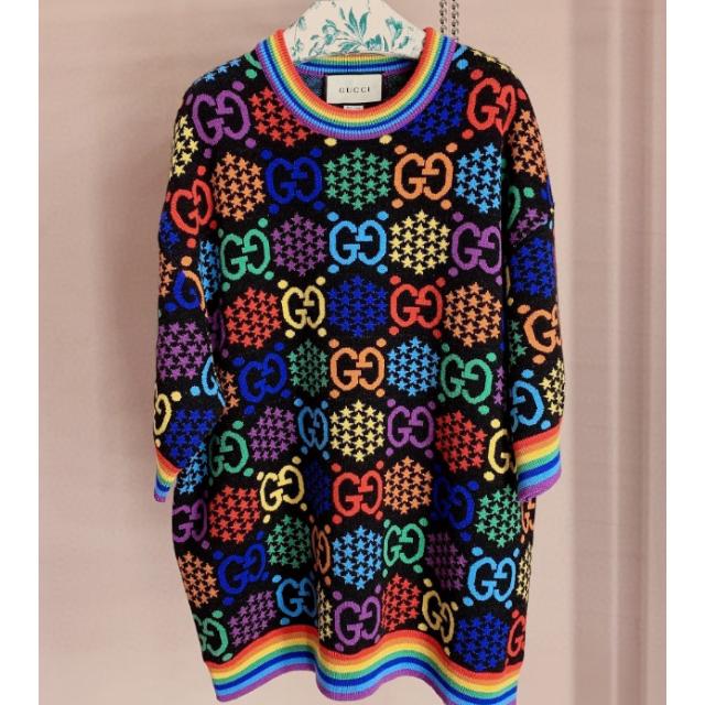 銀座中古時計スーパーコピー,Gucci-2020SS【GUCCI】GGサイケデリックウールジャカードトップの通販