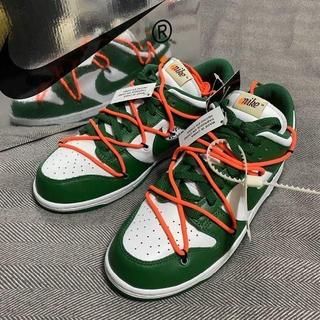OFF-WHITE - Nike×Off-White Dunk Low GREEN CT0856-100