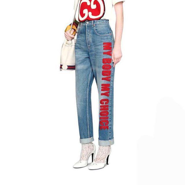 Sinn 時計 スーパー コピー - Gucci - 20SS【GUCCI】'80s「My Body My Choice」デニムパンツの通販