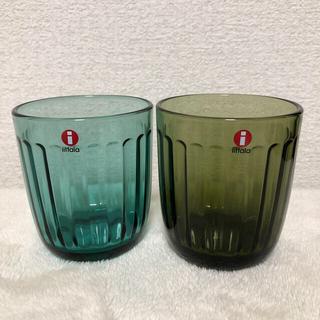 イッタラ(iittala)の本日までの値段 イッタラ ラーミ 2個 ①(グラス/カップ)
