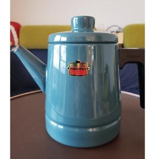 フジホーロー(富士ホーロー)の【値下げしました】富士ホーロー コーヒーポット SD-1.6CP.SB(鍋/フライパン)