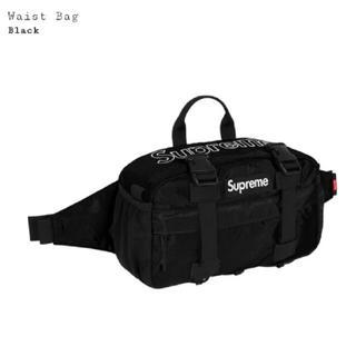 Supreme - 6点セット Supreme Waist bag Black 2019FW