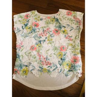 花柄Tシャツ(Tシャツ(半袖/袖なし))