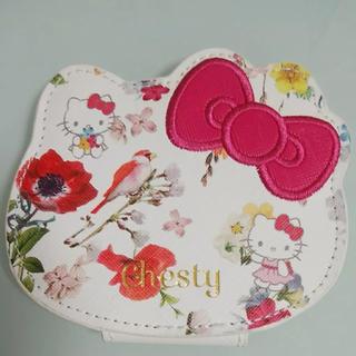 チェスティ(Chesty)のチェスティ ハローキティ サンリオ 美人百花 付録 ミラー 鏡(ミラー)