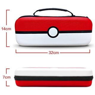 Nintendo Switch用ケース モンスターボール用保護カバー付 ガラスフ(家庭用ゲーム機本体)