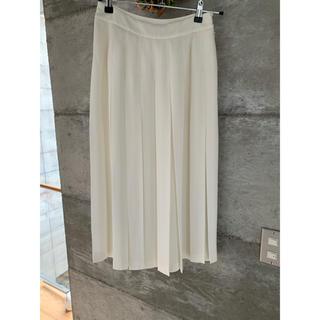 LE CIEL BLEU - 新品 ルシェルブルー ボックスプリーツスカート