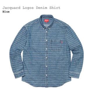 Supreme -  supreme denim shirt M デニム シャツ ロゴ