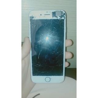 アイフォーン(iPhone)のiPhone6!画面割れジャンク16GB!au版!(スマートフォン本体)