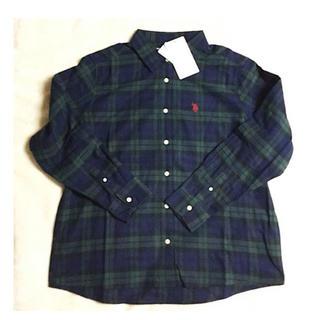 ポロラルフローレン(POLO RALPH LAUREN)のU.S.POLOASSN ネルシャツ LL  ターターンチエック 新品未使用(Tシャツ(長袖/七分))