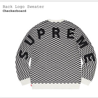 Supreme - supreme back logo sweater Sサイズ 新品