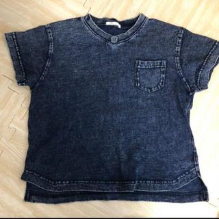 GU - GU デニム風 Tシャツ