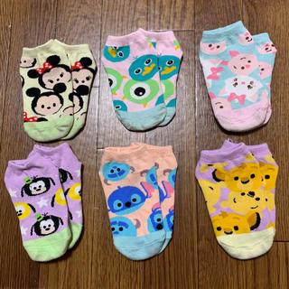 Disney - ディズニー♡ツムツム 靴下 14〜18cm 6足セット