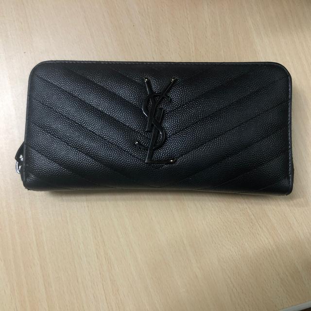 Saint Laurent(サンローラン)のサンローラン 長財布 レディースのファッション小物(財布)の商品写真