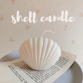 bonbon candle   shell candle