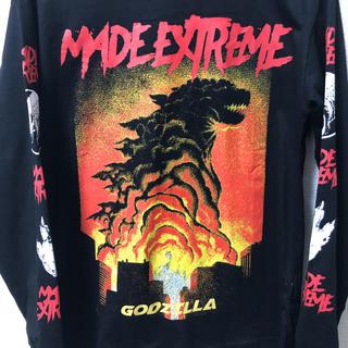 Godzzila Long Sleeve Tshirt Black