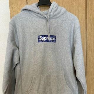 Supreme - 19aw banda box logo hooded sweatshirt
