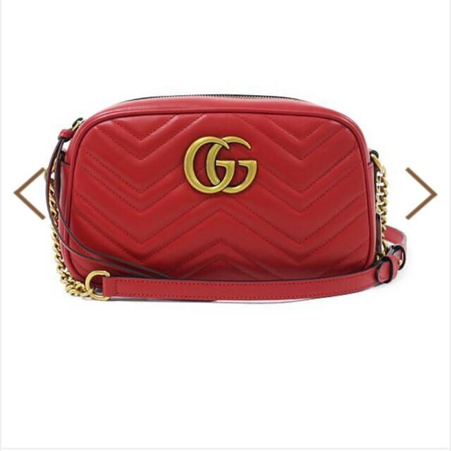 Gucci - GUCCI ショルダーバッグ 赤の通販