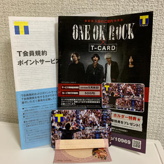 ONE OK ROCK - ONE OK ROCK 未登録 新品未使用 Tポイントカード ワンオク