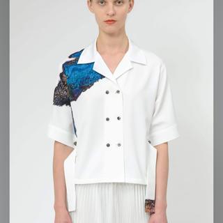 マメ(mame)のMURRAL 2020SS marble print pajama blouse(シャツ/ブラウス(半袖/袖なし))