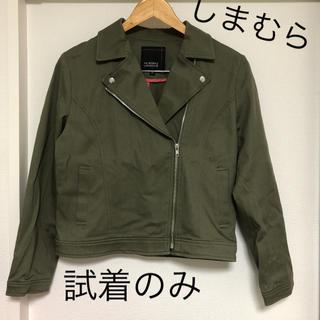 シマムラ(しまむら)のしまむら HK WORKS LONDON ライダースジャケット Mサイズ(ライダースジャケット)