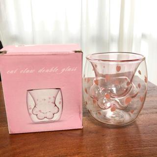 猫の手カップ グラス