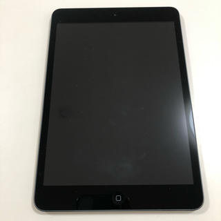 iPad - 美品 iPad mini 16GB spacegray クロ