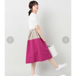 IENA - IENA パネルギャザースカート