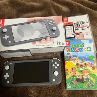 Nintendo Switch - ニンテンドースイッチ ライト あつ森 どうぶつの森 スイッチ どう森 脳トレ