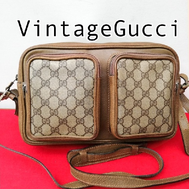 Tasaki時計スーパーコピー,Gucci-希少!オールドグッチGG柄ビンテージショルダーバッグ正規品Gucciの通販