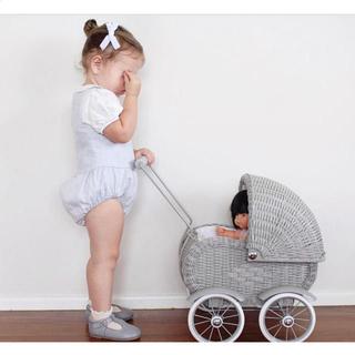 Caramel baby&child  - リネンロンパース soor ploom