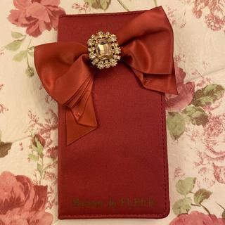 メゾンドフルール(Maison de FLEUR)のMaison de fleur iPhone X ケース(iPhoneケース)
