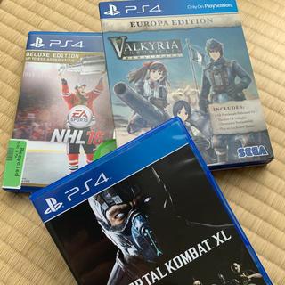 PlayStation4 - PS4 ソフト 3枚