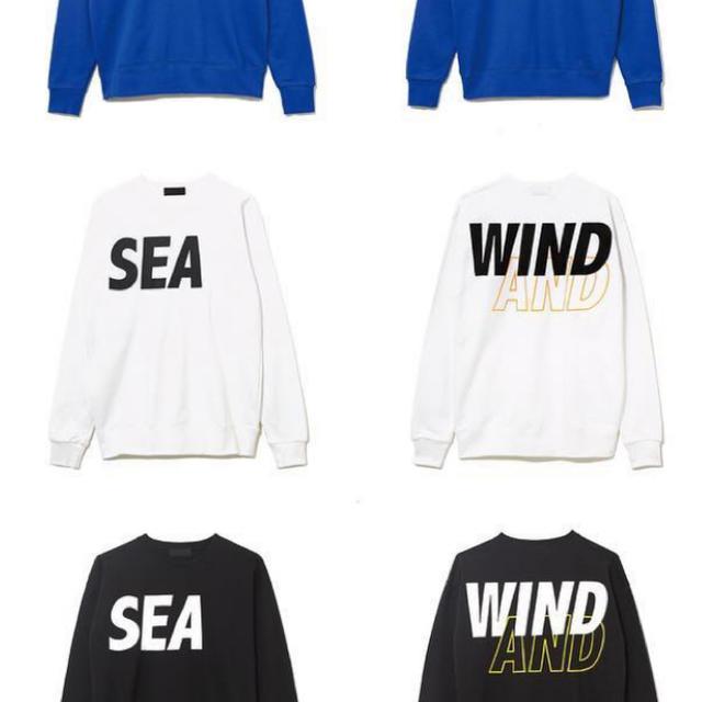 SEA(シー)のWIND AND SEA CREWNECK SWEAT WHITE メンズのトップス(スウェット)の商品写真