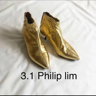 スリーワンフィリップリム(3.1 Phillip Lim)の3.1 Philip lim ショートブーツ サイズ37(ブーツ)