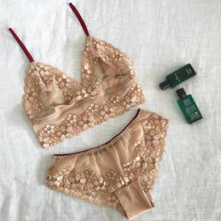 Victoria's Secret - 新品 ブラレット&ショーツ セット★ブラ&ショーツ ランジェリー ナイトブラ