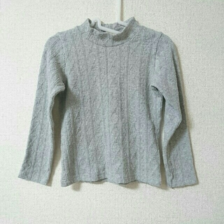petit main - プティマイン ハイネック長袖Tシャツ 110