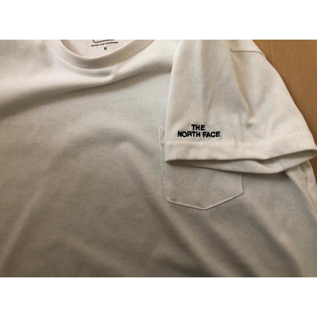 THE NORTH FACE(ザノースフェイス)のノースフェイス  ポケットティー Mサイズ レディースのトップス(Tシャツ(半袖/袖なし))の商品写真