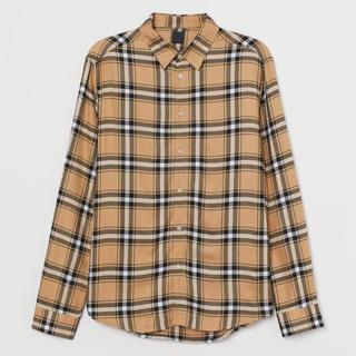 エイチアンドエム(H&M)のh&m チェックシャツ      バーバリー Burberry(シャツ)