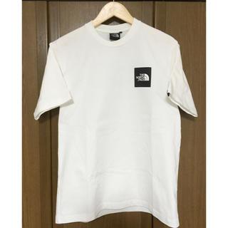 THE NORTH FACE - 白 未使用ノースフェイス ボックスロゴ スクエアロゴ Tシャツ Mサイズ