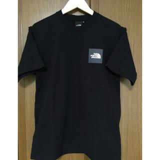 THE NORTH FACE - 黒 未使用ノースフェイス ボックスロゴ スクエアロゴ Tシャツ Mサイズ
