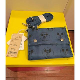 スタディオクリップ(STUDIO CLIP)のディズニーミッキー二つ折り財布(studio clip)(財布)