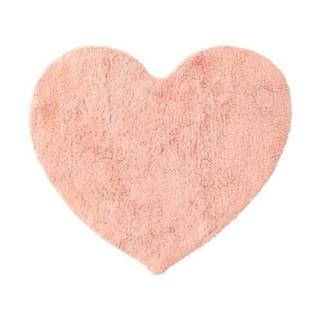 Francfranc - マット ラグ ハート シャギー ピンク 玄関 キッチン インテリア フランフラン